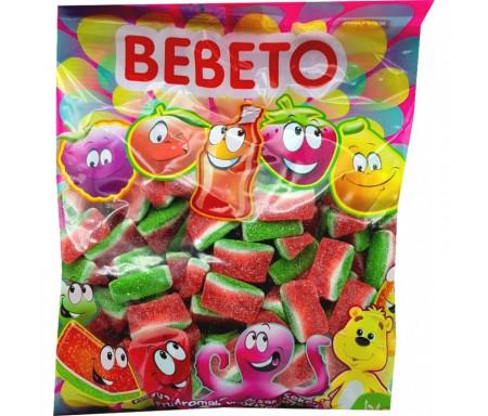 Bonbons Halal Pastèques sucrées au vrai jus de fruit 1kg (Format Familial) - Bebeto