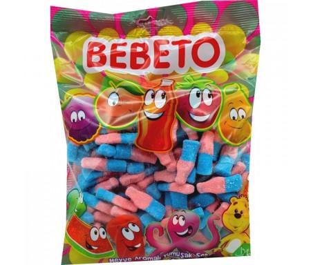 Bonbons Halal Bouteille Coca Tutti-frutti sucrés au vrai jus de fruit 1kg (Format Familial) - Bebeto