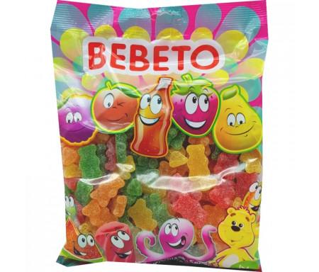 Bonbons Halal Bouteille Oursons sucrés au vrai jus de fruit 1kg (Format Familial) - Bebeto