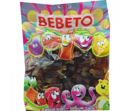 Bonbons Halal Bouteille Cola Coca au vrai jus de fruit 1kg (Format Familial) - Bebeto