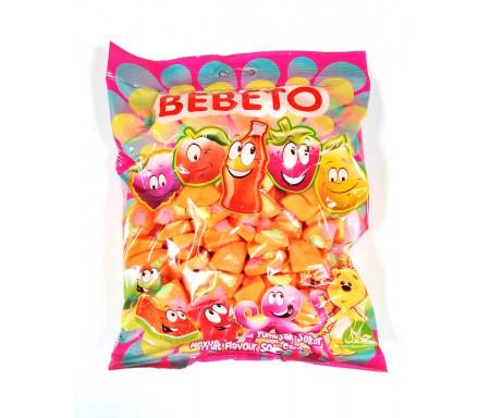 Bonbons Halal Pizza au vrai jus de fruit 1kg (Format Familial) - Bebeto