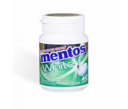 Mentos Chewing-gum White Menthe verte (40 dragées)