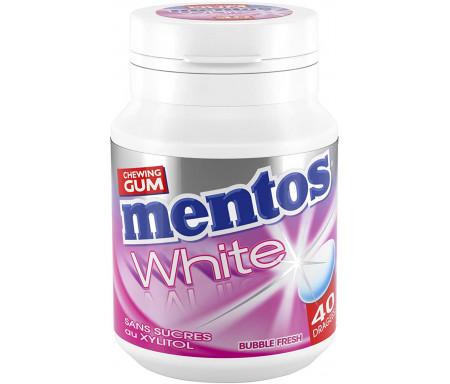 Mentos Chewing-gum White Bubble (40 dragées)