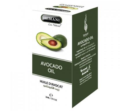 Huile d'Avocat pure 100% Naturelle - 30ml