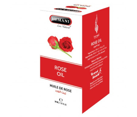 Huile de Rose pure 100% Naturelle - 30ml