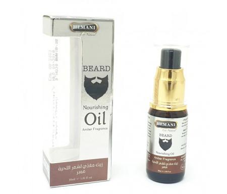 Huile de soin et entretien pour la barbe ambrée et parfumée - 30ml