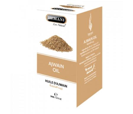 Huile d'Ajwain (Ajowan ou Thym indien) 100% Naturelle - 30ml