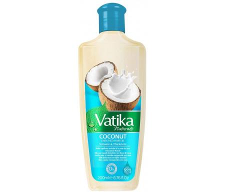 Huile Vatika à la Noix de coco pour les cheveux - Vatika Coconut Enriched Hair Oil - 200 ml