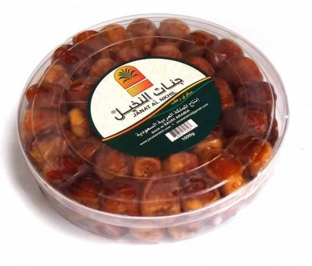 Boîte de Dattes Sukary / Sokary 1kg - 100% Dattes fraîches d'Arabie Saoudite