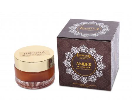 Crème parfumée pour le soin du Visage à l'Ambre - 30 ml