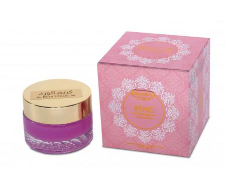 Crème parfumée pour le soin du Visage à la Rose - 30 ml