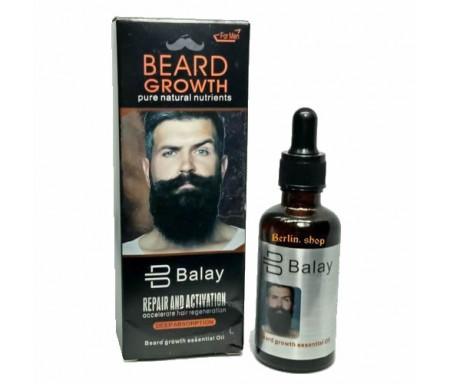 Huile essentielle de soin et entretien pour la barbe - 60ml
