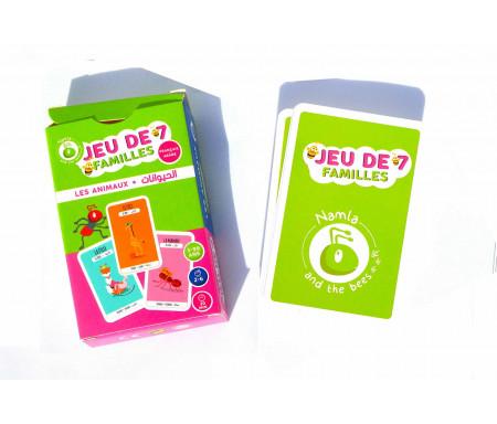Jeu de 7 Familles Les Animaux (Français/Arabe)