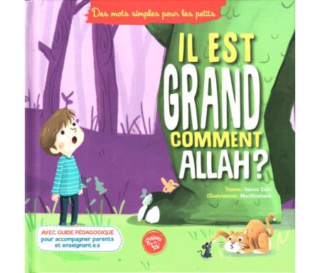 """Il est grand comment Allah ? Collection """"Des mots simples pour les petits"""""""