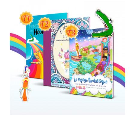 Pack 3 livres Collection le monde merveilleux des Houroufs