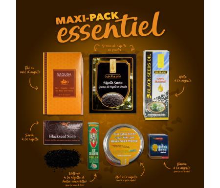 Pack Chifa Maxi produits essentiels à base de Miel et Nigelle Bio