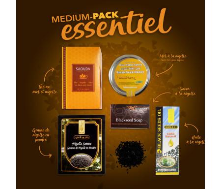 Pack Chifa Medium produits essentiels à base de Miel et Nigelle Bio