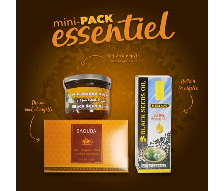 Pack Chifa Mini produits essentiels à base de Miel et Nigelle Bio