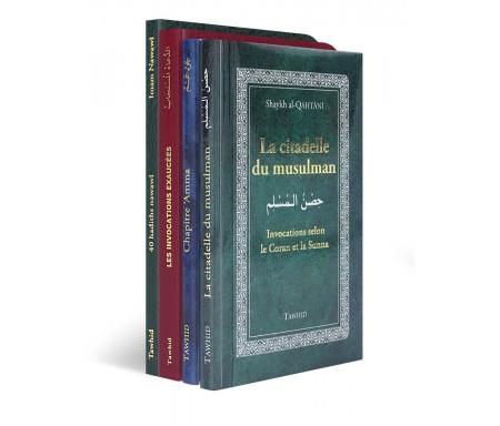Pack Initiation Saint Coran / Citadelle / 40 Hadiths et Invocations exaucées