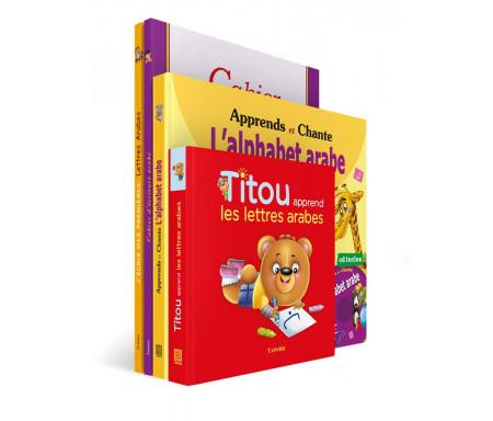 Pack de 4 ouvrages J'apprends l'arabe à mon enfant
