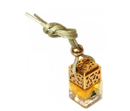 Diffuseur de parfum pour voiture (Désodorisant auto et parfumeur au musc - Doré) - Aladin