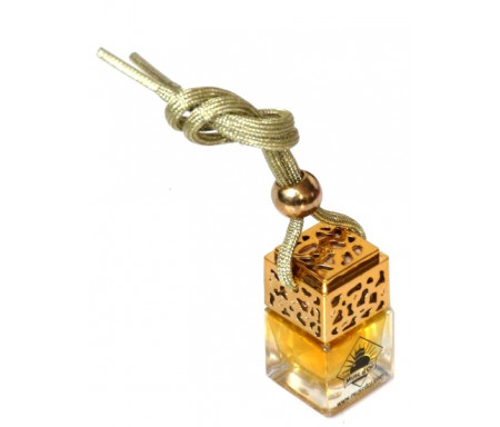 Diffuseur de parfum pour voiture (Désodorisant auto et parfumeur au musc - Doré) - Fatima
