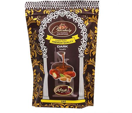 Dattes enrobées de Chocolat Noir avec Amandes 100gr