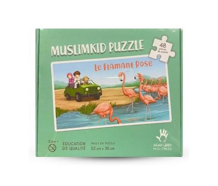 Puzzle Grand Format Le Flamand Rose 48 Pièces pour 3 ans et +