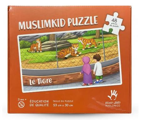 Puzzle Grand Format Le Tigre 48 Pièces pour 3 ans et +