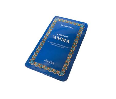 Chapitre Amma Bleu - Le Saint Coran Arabe / Français / Phonétique