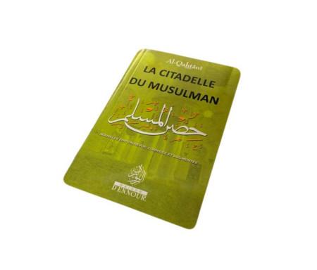 La Citadelle du Musulman Vert clair, Français Arabe et Phonétique - Format de Poche