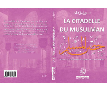 La Citadelle du Musulman Mauve, Français Arabe et Phonétique - Format de Poche