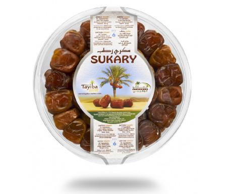 Boîte de Dattes Sukary / Sokary 600gr - 100% Dattes fraîches d'Arabie Saoudite