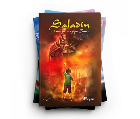 Pack Saladin et l'Anneau Magique (3 livres)