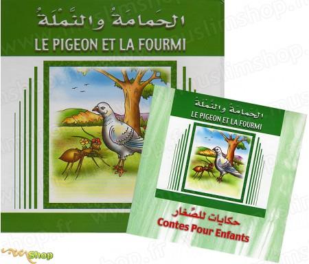 Le Pigeon et la Fourmi (Livre + CD)