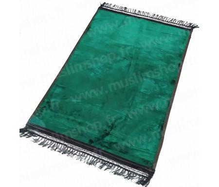 Tapis de luxe épais antidérapant et ultra-doux - Grande taille (80 x 120 cm) Uni et sans motif - Vert