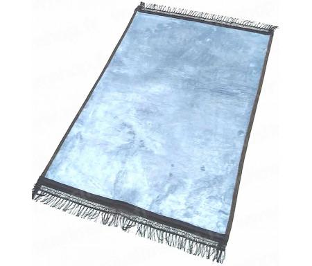 Tapis de luxe épais antidérapant et ultra-doux - Grande taille (80 x 120 cm) Uni et sans motif - Gris clair