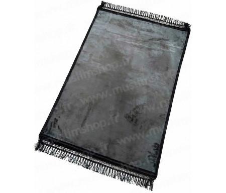 Tapis de luxe épais antidérapant et ultra-doux - Grande taille (80 x 120 cm) Uni et sans motif - Gris foncé