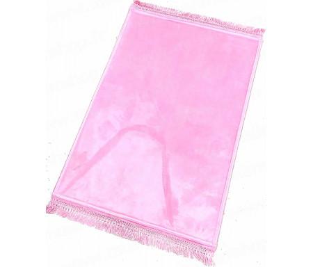 Tapis de luxe épais antidérapant et ultra-doux - Grande taille (80 x 120 cm) Uni et sans motif - Rose