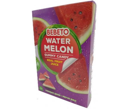 Bonbons Halal Bebeto Water Melon (Pastèque) Gummy avec du vrai Jus de Fruit - Bebeto - Sachet 150gr
