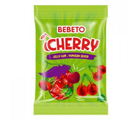 Bonbons Halal Cherry (Cerises) - Bebeto - Sachet 80gr