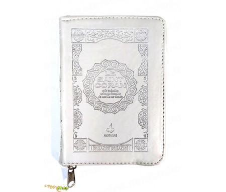 Saint Coran Français Pochette (11x15 Cm) - Couverture Gris clair