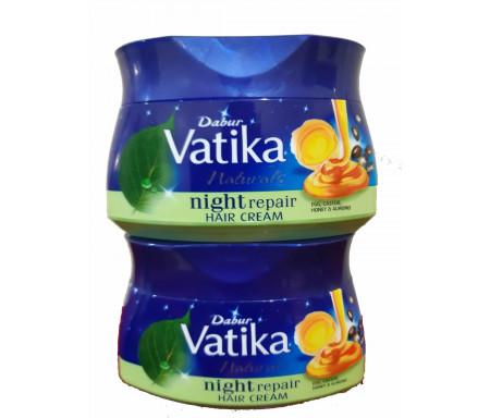 Lot de 2 x Crème pour cheveux Vatika Night Repair (Réparation de nuit) - 140ml