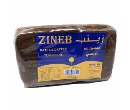 Pâte de Datte Tunisienne sous cellophane de 1kg