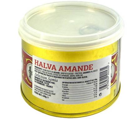 Halva aux Amandes (confiserie traditionnelle) 400gr - SAMIA