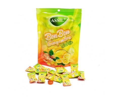 Bonbon Gingembre Citron Halal (sans matière grasse) - 125gr