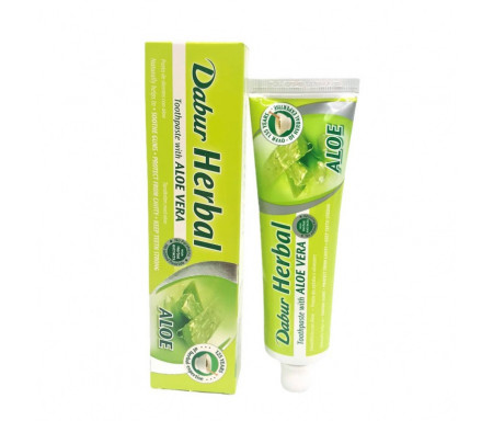 Dentifrice Herbal à l'Aloe Vera - 100gr