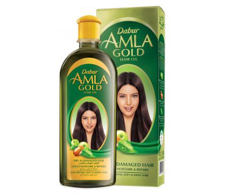 Huile capillaire AMLA GOLD de Qualité Supérieure 300ml ((Groseille indienne - Amande - Henné)