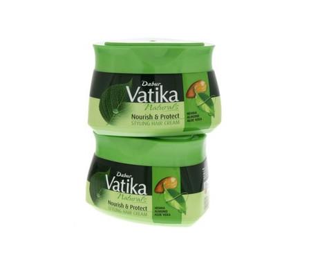Crème pour cheveux Vatika Hydratante Extrême aux Amandes - 140ml