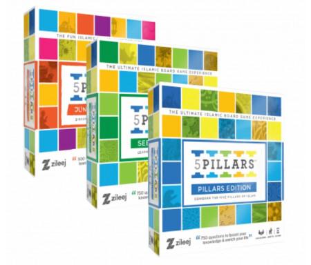 "Pack 3 Jeux ""5 Piliers"" (Edition Sîrah / Edition Junior / Edition Piliers)"
